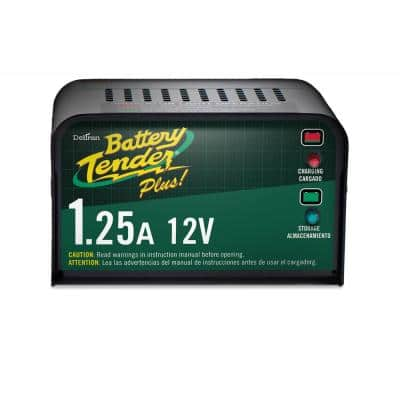 12-Volt 1.25 Amp Battery Charger
