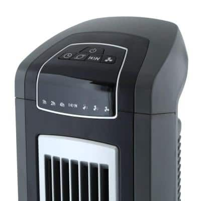 42 in. Electronic Oscillating 3-Speed Tower Fan with Remote Control and Fresh-Air Ionizer