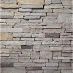 PA Sierra Ledgestone Flats 2 in. to 8 in. x 6 in. x 20 in. Manufactured Stone Ledgestone Flat 10 sf. ft. Pack