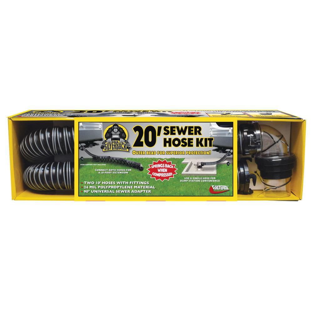 Silverback Sewer Hose Kit - 20'