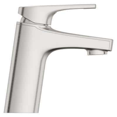 Ferris Single Hole Single-Handle Bathroom Faucet in Spot Defense Brushed Nickel