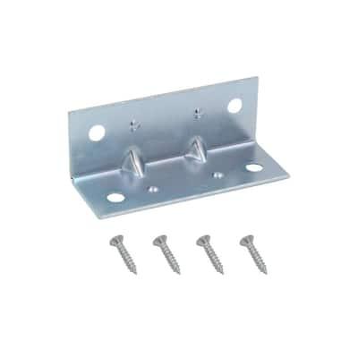2 in. Zinc-Plated Inside Corner Brace (4-Pack)