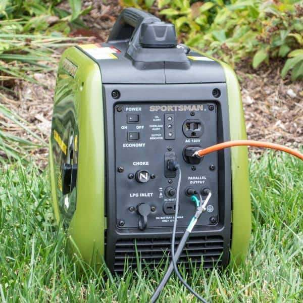 Sportsman 2 200 Watt Recoil Start Dual Fuel Lpg Gasoline Powered Portable Inverter Generator W Parallel Connection Carb Approved Gen2200dfic The Home Depot