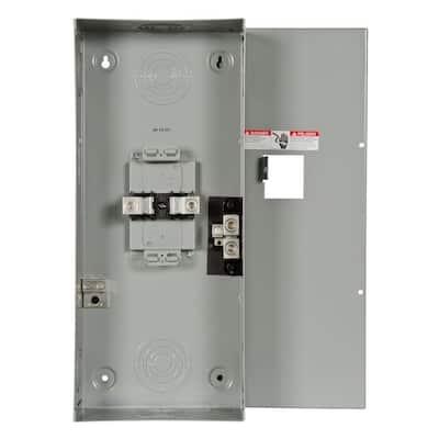 200-Amp 2-Space 4-Circuit Main Lug Load Center