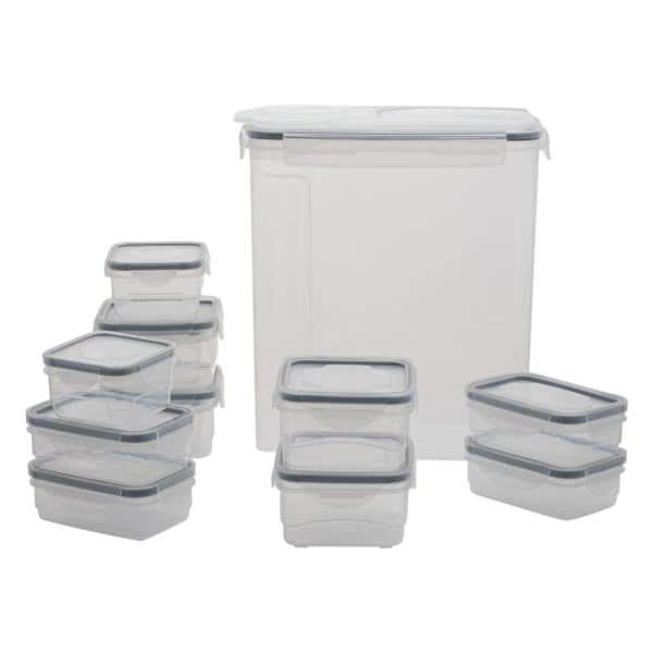 Kitchen Details 26 Piece Airtight Food Storage Container Set 15013 The Home Depot