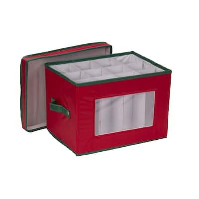 12-Qt. Wine Glass Storage Box