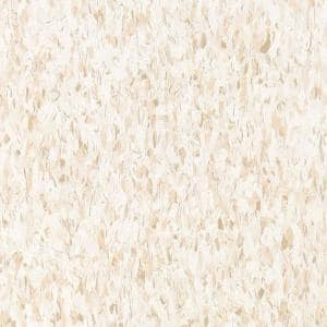 Imperial Texture VCT 12 in. x 12 in. x 3/32 in. Fortress White Standard Excelon Vinyl Tile (45 sq. ft. / case)