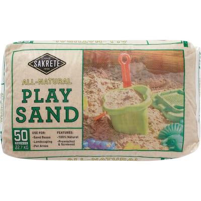 50 lb. Play Sand