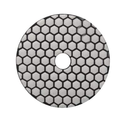 4 in. 1500 Grit Resin Dry Polishing Pad