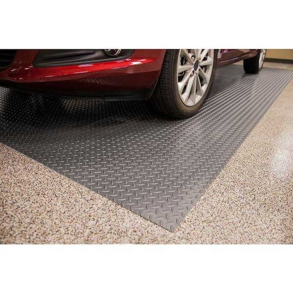 G Floor Diamond Tread 8 5 Ft X 24, Vinyl Garage Flooring Rolls