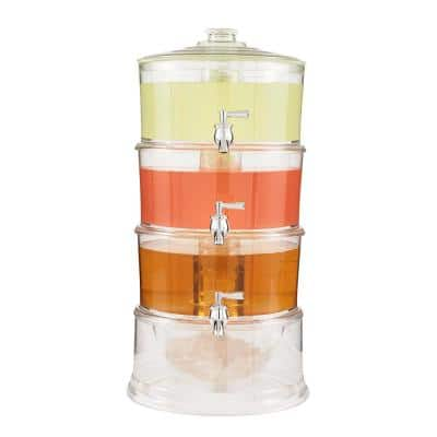 Acrylic 3-Tier 1 Gal Dispenser