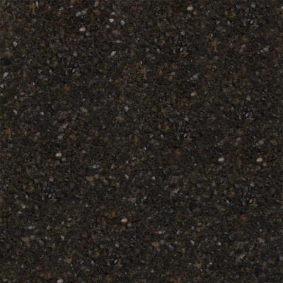 4 in. x 4 in. Natural Quartz Vanity Top Sample in Black Amber