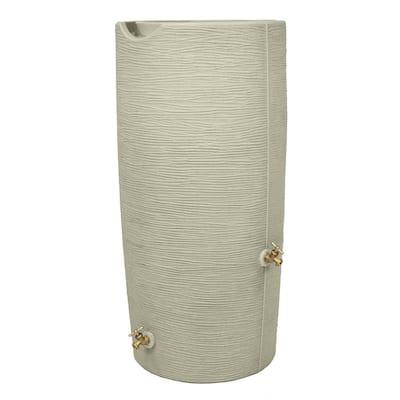 Impressions 50 Gal. Rain Barrel in Sandstone