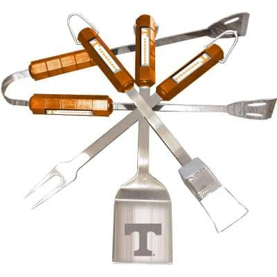 NCAA Tennessee Volunteers 4-Piece Grill Tool Set