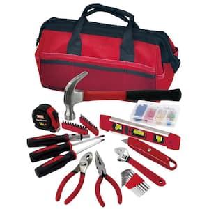 Combination Tool Set with Tool Bag (39-Piece)