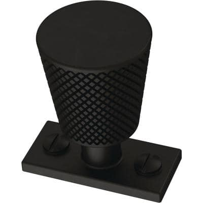 Averland 1-5/8 in. (42mm) Matte Black Cabinet Knob