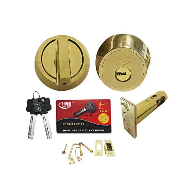 SHIPS FREE Very High Security Dimple key style Cylinder Lock for t-handle
