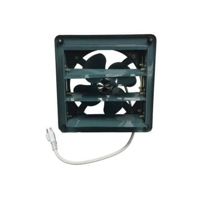261 CFM Electric Powered Gable Mount Shutter Fan/Vent