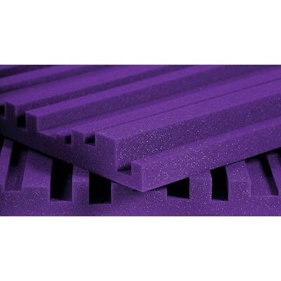 Auralex Studiofoam Metro Panels - 2 ft. W x 4 ft. L x 2 in. H - Purple (12 Panels per Box)