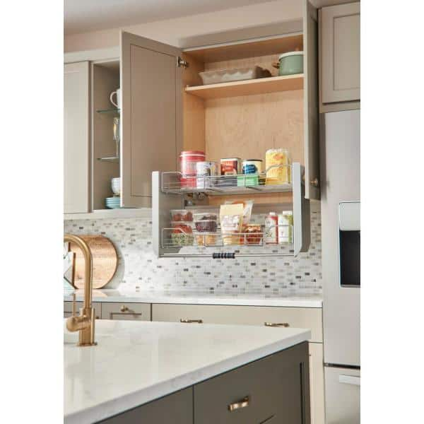 Rev A Shelf 18 87 In H X 34 25 In W X 10 25 In D Large Wall Cabinet Pull Down Shelving System 5pd 36crn The Home Depot