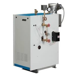 Galaxy Natural Gas Steam Boiler with 100,000 BTU Input 61,000 BTU Output Intermittent Electronic Ignition