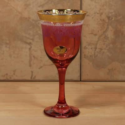 Red Goblets (Set of 6)