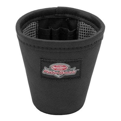 Auto Boss Interior Car Cup Holder Organizer with 3 Pen Pockets in Black