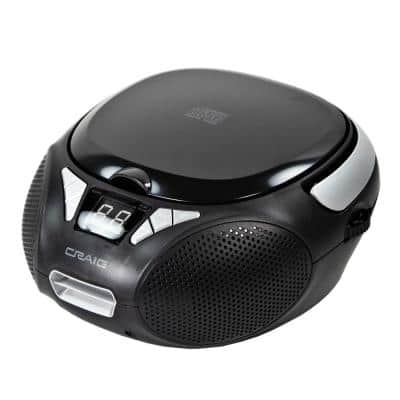 Stereo CD Boombox with AM/FM Radio