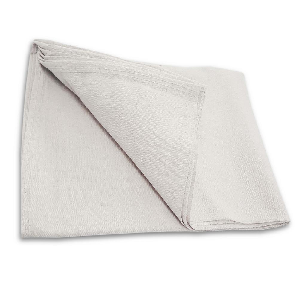 6 ft. x 9 ft. Canvas Drop Cloth (2-Pack)