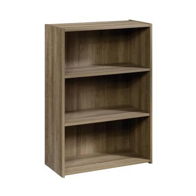 Beginnings 35 in. Summer Oak Engineered Wood 3-Shelf Bookcase