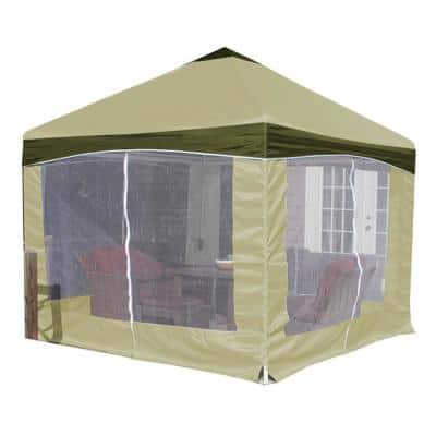 13 ft. x 13 ft. Garden Party Canopy with Olive Branch Cover