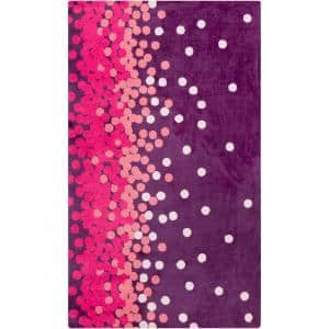 Acahay Purple 2 ft. x 3 ft. Area Rug