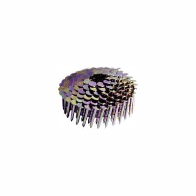 1-1/4 in. x .120 Smooth Galvanized Coil Roofing Nails (7200-Pack)