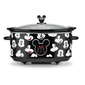 Mickey Mouse 7 qt. Digital Slow Cooker with Sounds