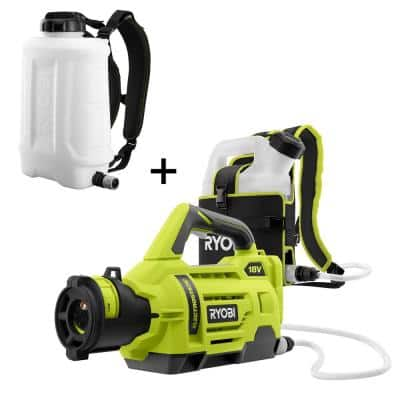 ONE+ 18V Cordless Electrostatic 1 Gal. Sprayer w/ Extra 3 Gal. Replacement Tank, (2) 2.0 Ah Batteries, and (1) Charger