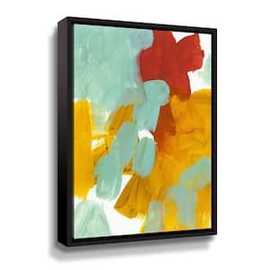 'Alla Prima 1' by Iris Lehnhardt Framed Canvas Wall Art