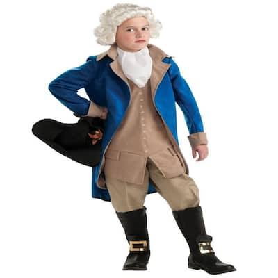 X-Large Boys George Washington Kids Halloween Costume
