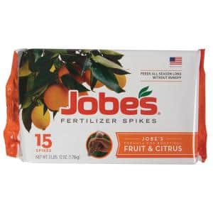 4 lb. Fruit and Citrus Fertilizer Spikes (15-Pack)
