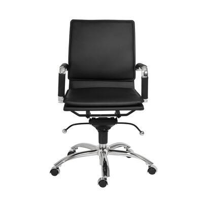Gunar Black Pro Low Back Office Chair