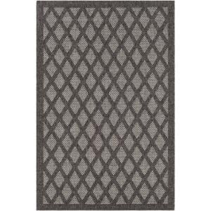 Talbot Dark Brown 2 ft. x 3 ft. Indoor/Outdoor Area Rug