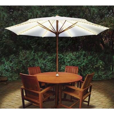 Brella Lights Patio Umbrella Lighting System with Power Pod (6-Rib)