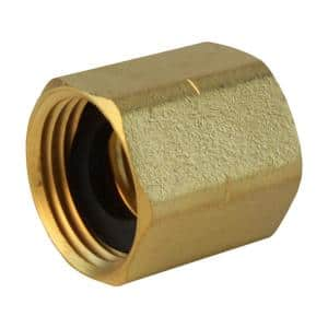 3/4 in. FHT x 3/4 in. FIP Brass Adapter Fitting