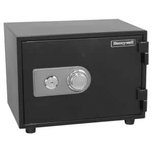 0.58 cu. ft. Fire Resistant Safe with Dual Combination and Key Lock Security
