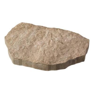 Epic Stone 15.75 in. x 13.78 in. x 2 in. Napoli Irregular Concrete Step Stone
