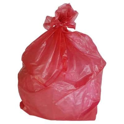 33 in. W x 39 in. H 33 Gal. 1.5 mil Red Trash Bags (100-Count)