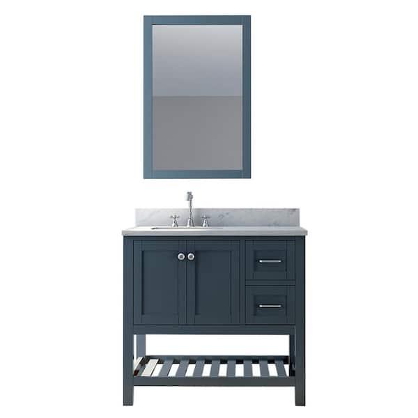 Bomonti 36 In Single Bathroom Vanity, Bathroom Vanity Sets