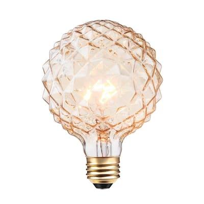 40W Clear Designer Vintage Edison Crystalina Incandescent Light Bulb