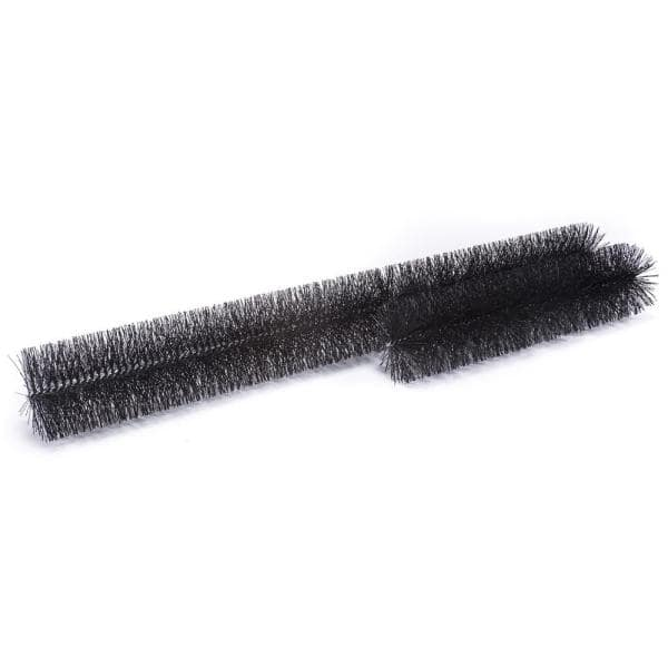 Gutterbrush Oversize 6 In 60 Ft Pack Max Flow Filter Brush Gutter Guard 6in 60ft The Home Depot