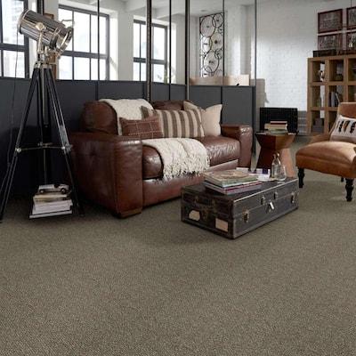 Fallbrook - Color Beechnut Indoor/Outdoor Berber Brown Carpet