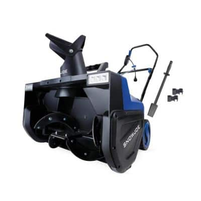 22 in. 15 Amp Electric Snow Blower with Dual LED Lights